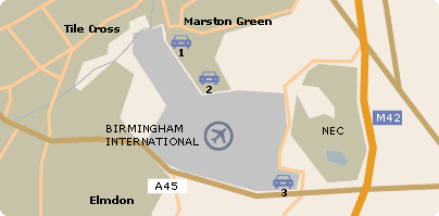 UK Airport Parking at Birmingham International Airport