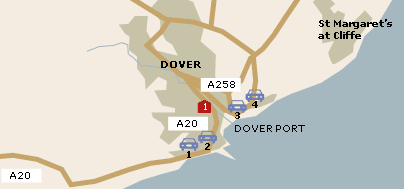 UK Parking at Dover Port